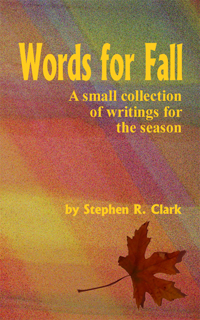 Words For Fall  : A small collection of writings for the season
